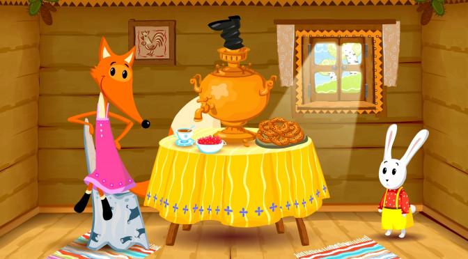 Lisica in zajec