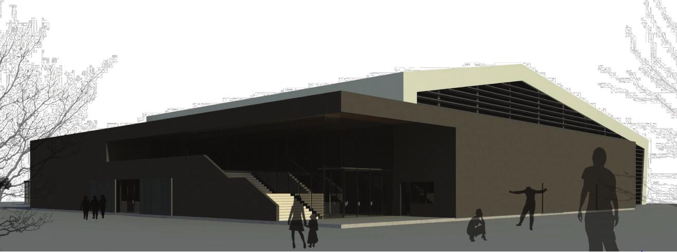 Otvoritev gradnje večnamenske športne dvorane