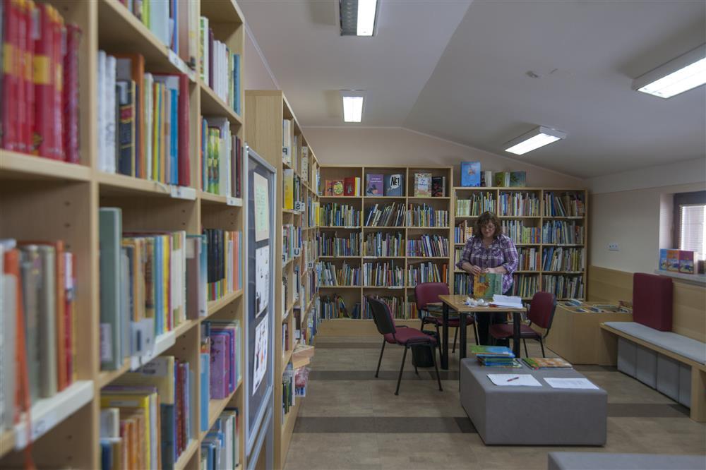 Moj obisk knjižnice