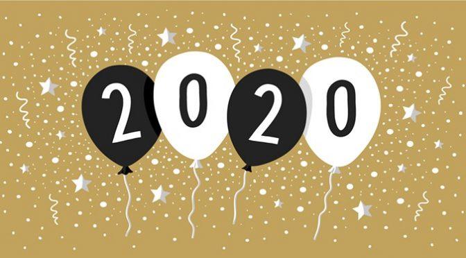 Je že tukaj 2020!