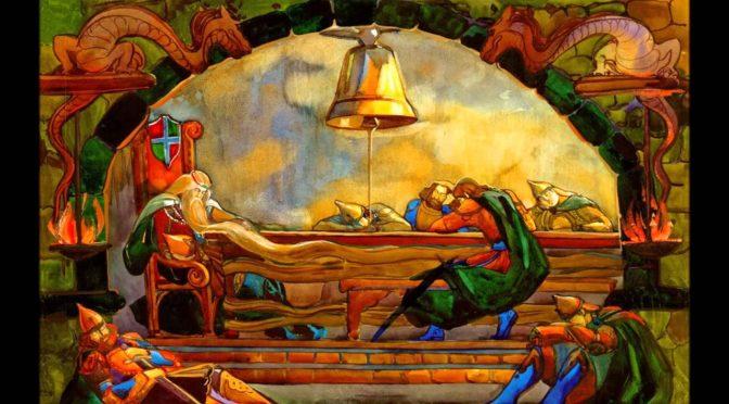 Kralj Matjaž počiva pod Peco