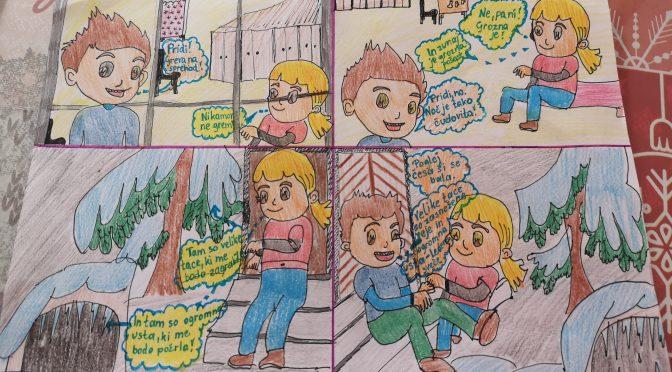 Komični stripi v 7.a
